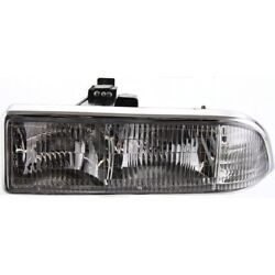 16526217 Gm2502172 Headlight Lamp Left Hand Side For Chevy S10 Pickup Driver Lh