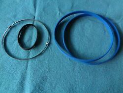 Blue Max Band Saw Tires 1/8 Band Saw Blade And Drive Belt For Shopmaster Bs100