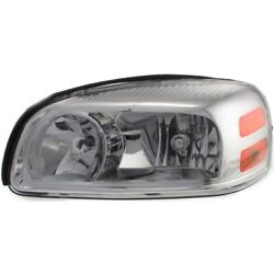 Headlight Lamp Left Hand Side For Chevy Driver Lh Montana Gm2502256 25891660