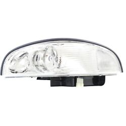 Headlight Lamp Left Hand Side Driver Lh For Buick Park Avenue Gm2502160 25689659