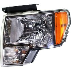 Headlight Lamp Left Hand Side For F150 Truck Driver Lh Fo2502287 Fo2502289