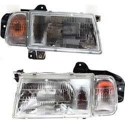 30000153, 30020198, 30000155, 30020200 Headlight Lamp Left-and-right For Chevy