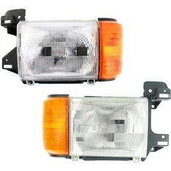Fo2503104 Fo2502104 Headlight Lamp Left-and-right For Truck F150 F250 F350