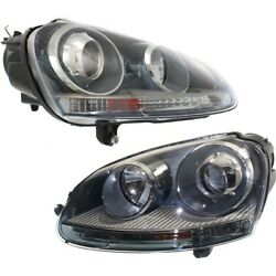 Vw2503133, Vw2502133 Hid Headlight Lamp Left-and-right For Vw Hid/xenon Sedan