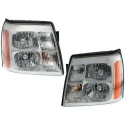Hid Headlight Lamp Left-and-right Hid/xenon Lh And Rh 19208223, 19208222