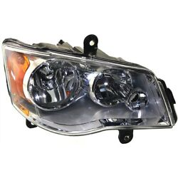 Ch2503192 Headlight Lamp Right Hand Side For Town And Country Passenger Rh Dodge