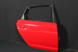 Audi Rs6 4f Soda Door Rear Right Hr With Disc Key Less Entry Handle Misano Red