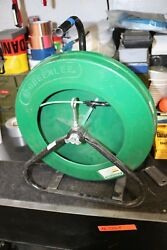 Greenlee 542-200 Fiber Glass Fish Tape In Reel Stand  3/16