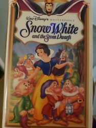 Rare The Little Mermaid Vhs With Banned Cover, And Snow White Vhs Collectors