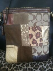 Coach Designer Crossover Bag Purse Retails $340
