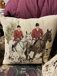 Hunt 1 Tapestry Pillows