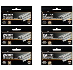 """Value Pack Of 6 Boxes Bostitch B8 Powercrown Premium 1/4"""" Staples Stcrp21151/4"""