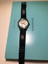 And Co. Atlas 37mm Swiss Stainless Steel Mens Unisex Automatic Watch Cosc