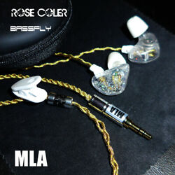 310 000 Yen High Res Earphone 18K Gold Cable Bass Headphone Quality 3D Sound