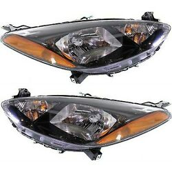 Headlight Lamp Left-and-right Lh And Rh For Mazda 2 2011-2014