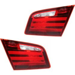 Pair Tail Lights Lamps Set Of 2 Left-and-right Inside For 528 535 550 5 Series