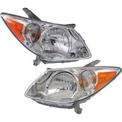 88973539, 88973540 Gm2503249, Gm2502249 Headlight Lamp Left-and-right Lh And Rh