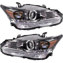 Headlight Lamp Left-and-right Lh And Rh For Lexus Ct200h Lx2503151 Lx2502151