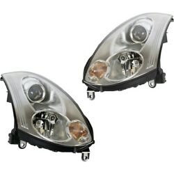 Hid Headlight Lamp Left-and-right Hid/xenon In2503128 In2502128 Coupe Lh And Rh