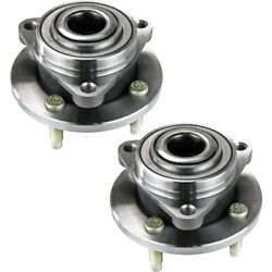 Pair Set of 2 Wheel Hubs Front Left-and-Right for Chevy 22701520 LH