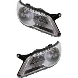 Headlight Lamp Left-and-right For Vw Vw2503143 Vw2502143 Lh And Rh Tiguan 09-11