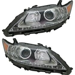 Hid Headlight Lamp Left-and-right Hid/xenon Lh And Rh Lx2519140 Lx2518140