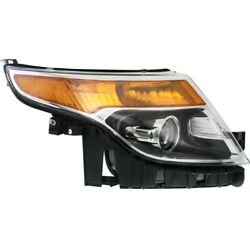 Db5z13008a Fo2503328 Headlight Lamp Right Hand Side Passenger Rh For Ford 13-15