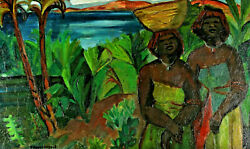 Two Südseefrauen in the Nature of the Paul Gauguin