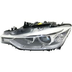 Hid Headlight Lamp Left Hand Side For 320 328 Hid/xenon Driver Lh Bm2502181
