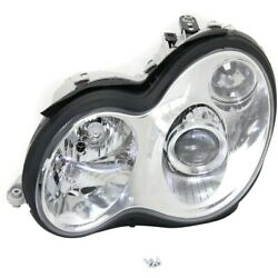 Hid Headlight Lamp Left Hand Side For Mercedes C Class Hid/xenon Driver Lh C240