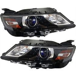 Headlight Lamp Left-and-right For Chevy Gm2503417 Gm2502417 23405239 23405242