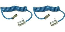 Blue Ox Bx88206 Trailer Wiring Connector Adapter 2 Pack