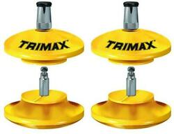 Trimax Locks Tlr51 Lunette Ring Lock Without Pad Lock 2 Pack
