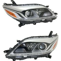 Headlight Lamp Left-and-right To2503230, To2502230 8111008060, 8115008060