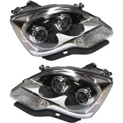 20912394, 20912393 Gm2503358c, Gm2502358c Headlight Lamp Left-and-right Lh And Rh