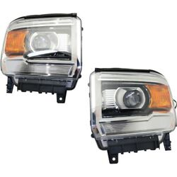 Headlight Lamp Left-and-right Gm2503394, Gm2502394 23130718, 23130717 Lh And Rh