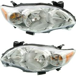 Headlight Lamp Left-and-right To2502203c To2503203c 8111002b50 8115002b50
