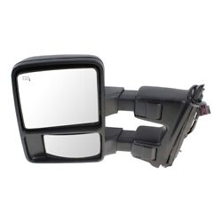 Mirror Left Hand Side Heated For F250 Truck F350 F450 F550 Driver Lh Fo1320487