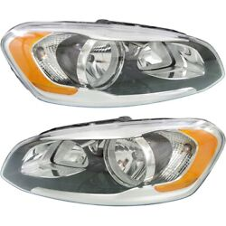 Headlight Lamp Left-and-right Vo2503142, Vo2502142 313581142, 313581134 Lh And Rh