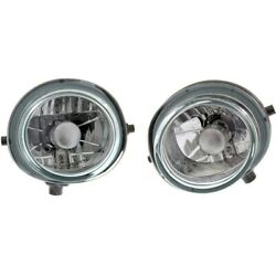 Fog Lights Lamps Set Of 2 Front Left-and-right For 3 Ma2593125c, Ma2592125c Pair