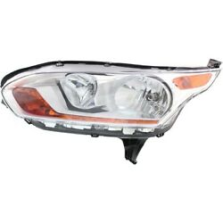 Headlight For 2014-2017 Ford Transit Connect Driver Side