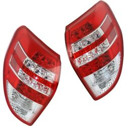 Tail Lights Lamps Set Of 2 Left-and-right Lh And Rh To2818142c, To2819142c Pair