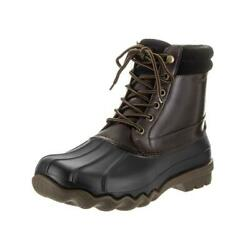 Sperry Top-sider Brewster Wp Boot Mens Black/amretto Boots