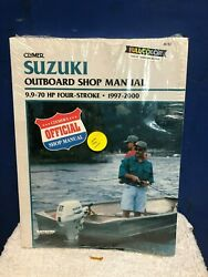 Clymer Suzuki Outboard Shop Manual 9.9 - 70 Hp 4-strk 97and039-00and039  B782