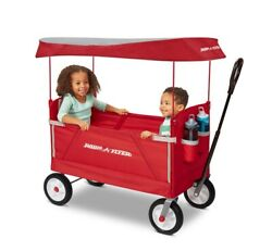 Radio Flyer 3-in-1 Off-road Ez Fold Wagon With Canopy, Model 3953