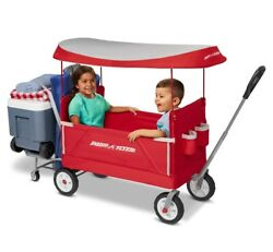 Radio Flyer 3-in-1 Tailgater Wagon With Canopy, Model 3963