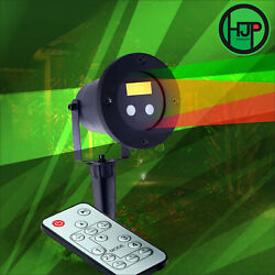 Lot Of 50 Christmas Motion Laser Waterproof Red Green Remote Indoor Outdoor