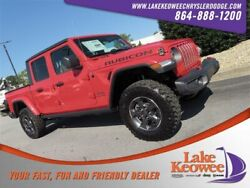 2020 Jeep Gladiator Rubicon 2020 Jeep Gladiator Rubicon 15 Miles Firecracker Red Clearcoat Crew Cab Pickup R