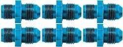 Aeroquip Fcm2111 Adapter Fitting -6 An Male To 1/2 Inch - 20 Anodized 6 Pack