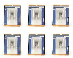 Camco 41330 Dome Light Clear Lens Single Dome Replacement 12 Volt 6 Pack